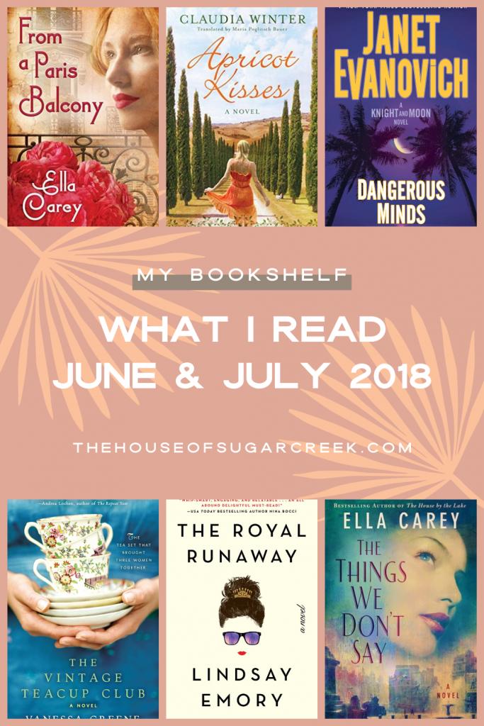 Books I Read - June & July 2018