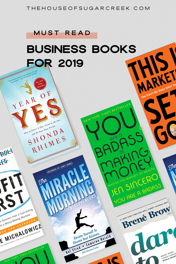 Must Read Business Books for 2019