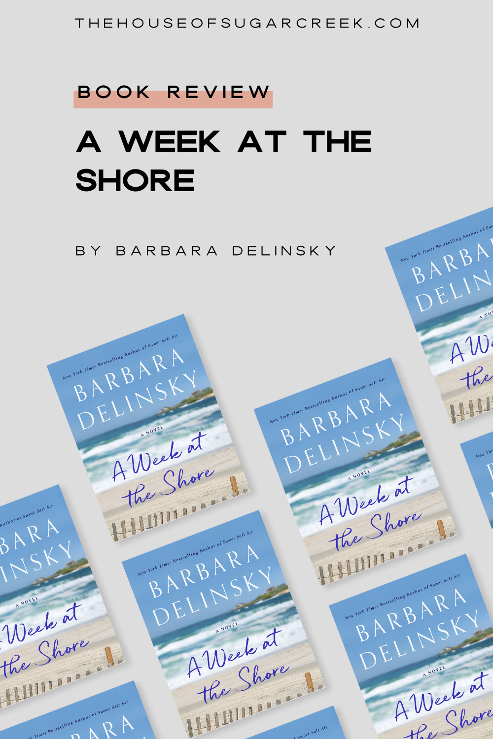 Book Review - A Week at the Shore by Barbara Delinsky