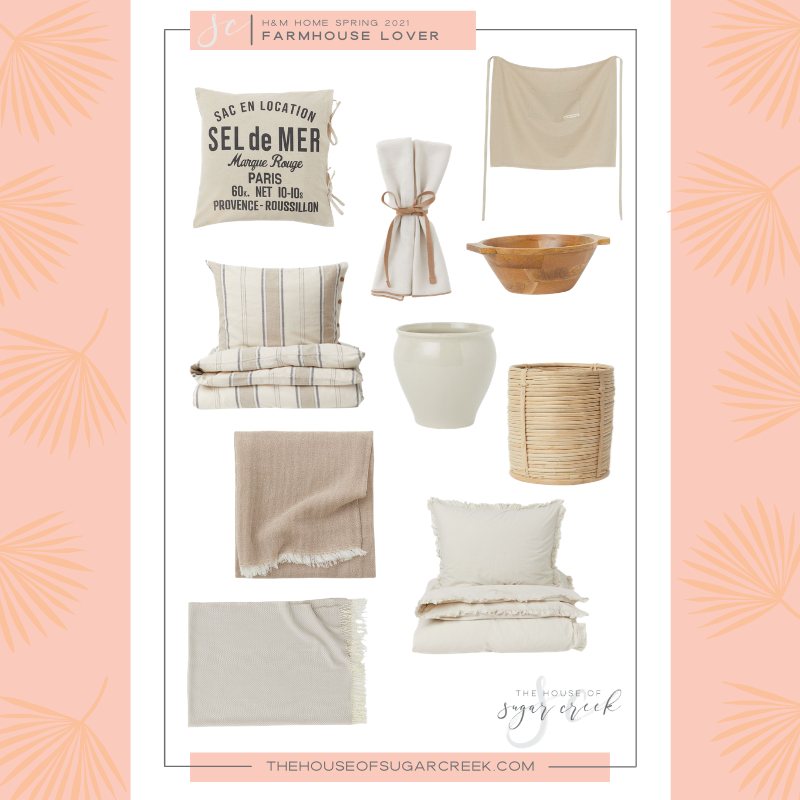 Fresh Farmhouse Finds from H&M Home Spring 2021