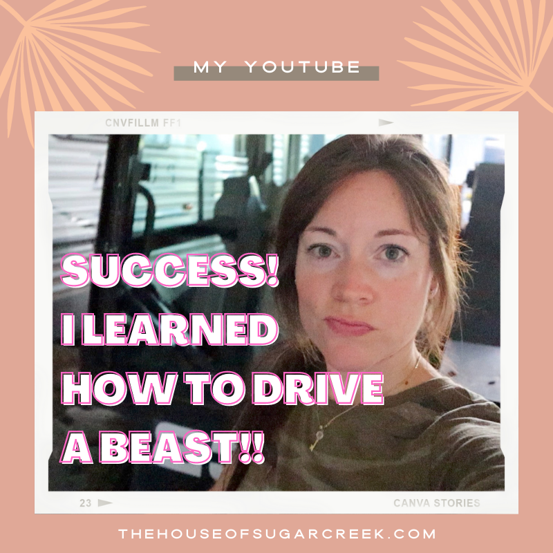 I learned how to drive a Skid-Steer and didn't break anything!