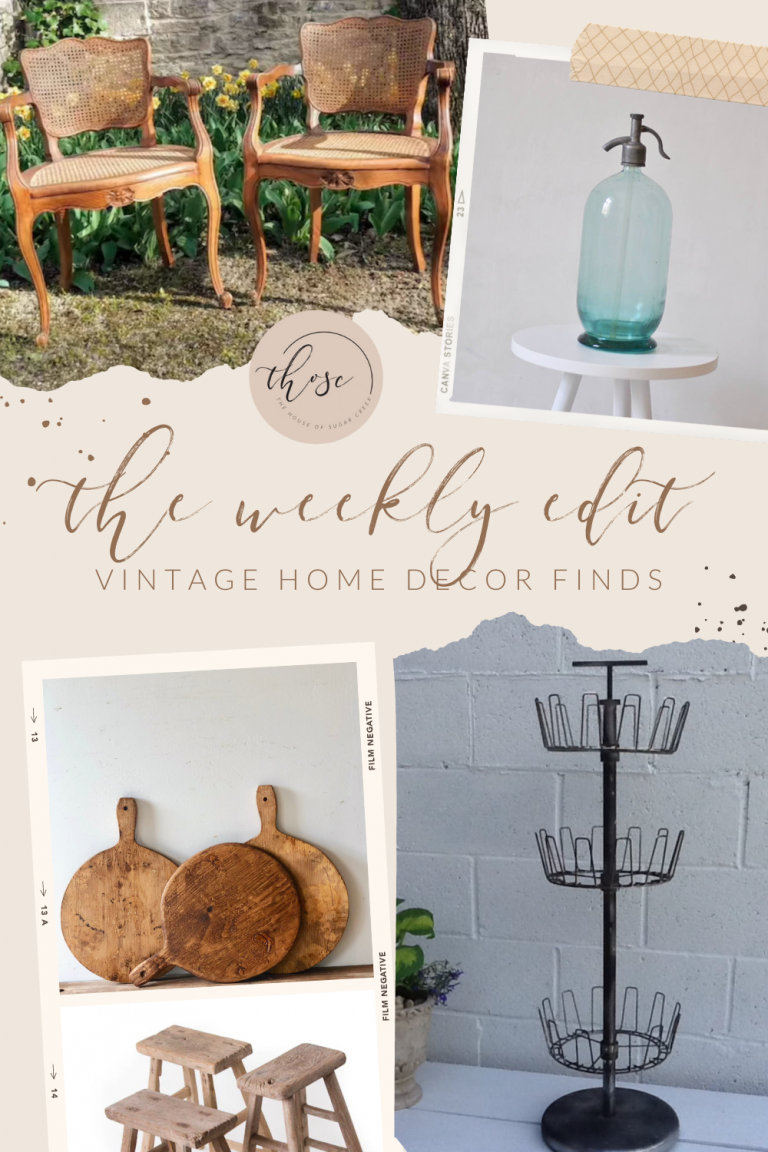 THOSC The Weekly Edit - Vintage Home Decor Finds