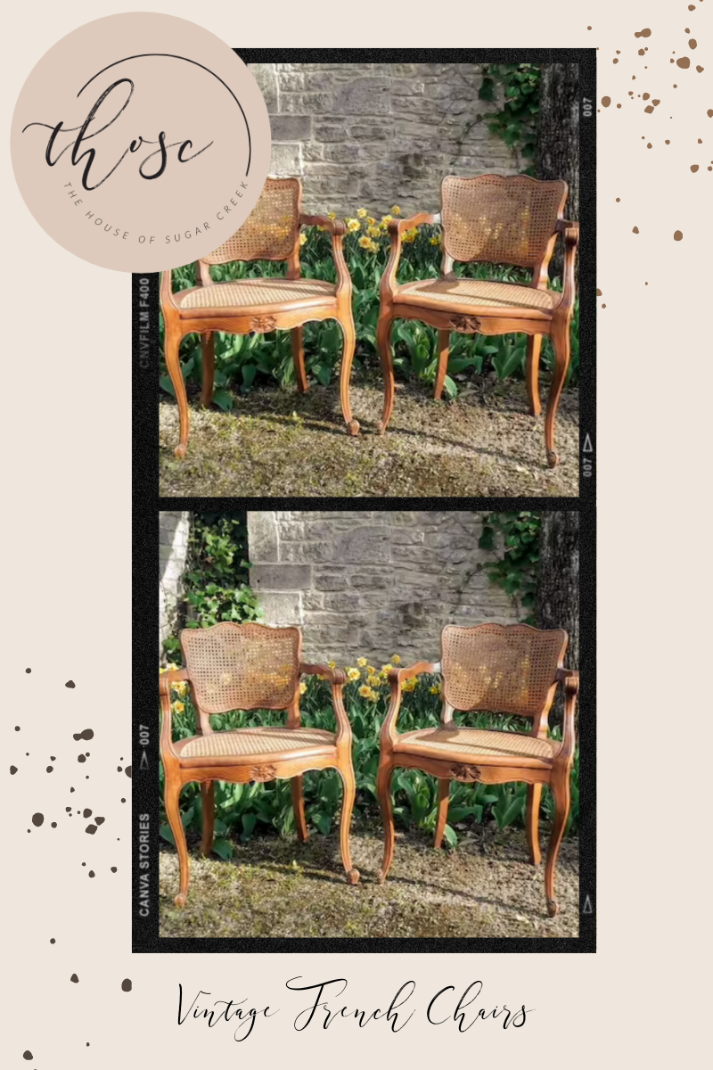 THOSC The Weekly Edit - Vintage French Chairs