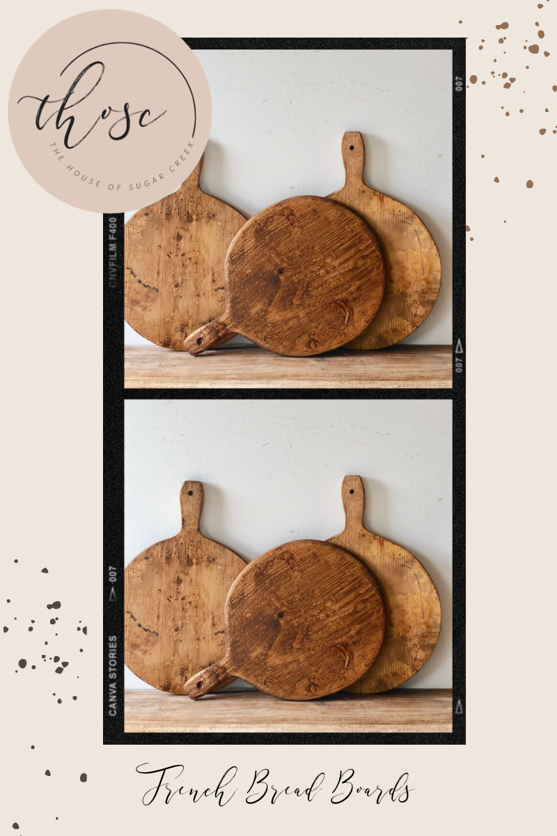 THOSC The Weekly Edit - French Bread Boards